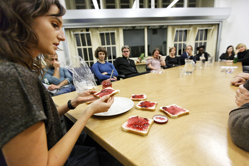 OpenLab 'Learning by Teaching' at DasArts, Amsterdam Performance 'Second Choice' by Maria Kefirova.
